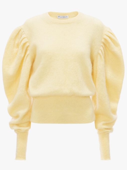 RUCHED SHOULDER JUMPER