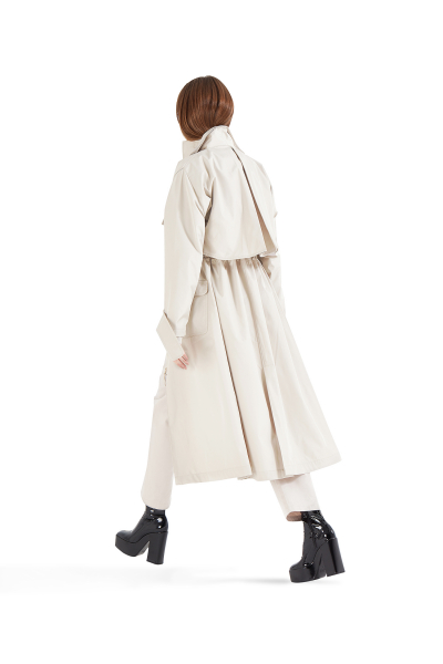 Safari Trench Coat Beige