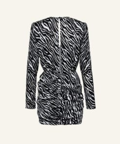 Black Zebra Dress