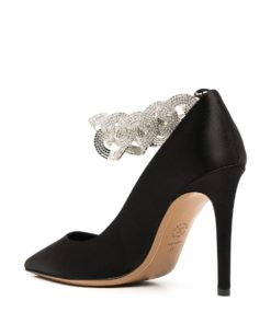 Elsa 110mm satin pumps