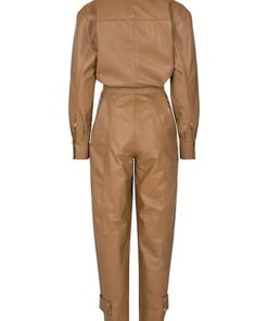 Remain Suzanne Camel Jumpsuit