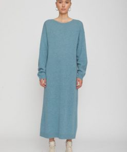 Remain Valcyrie Open Back Knit Dress Lead