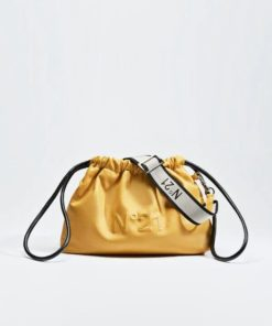 N21 Eva crossbody logo bag yellow
