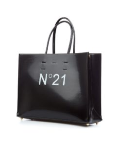 N21 Shopper Logo Bag Black