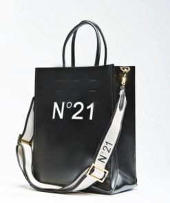 N21 Small Logo Print Shopper Bag