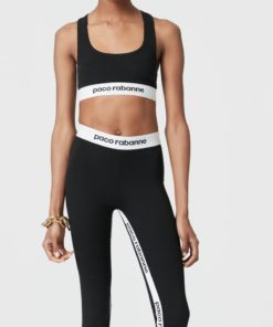 Paco Rabanne Bodyline black legging