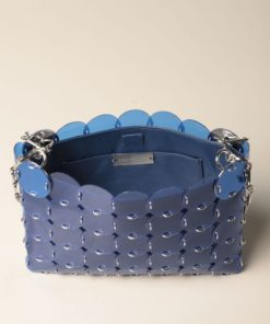 Paco Rabanne bag with pvc circles