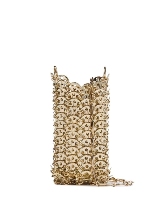 Paco Rabanne chain link shoulder bag gold details
