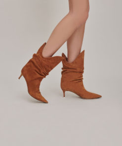 The Attico Tate ankle boots brown