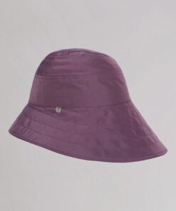 The Attico Dylan Mauve Bucket Hat