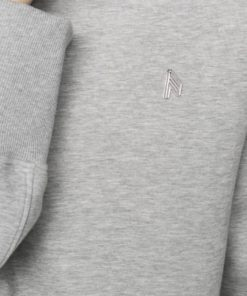 The Attico Kenna grey sweater