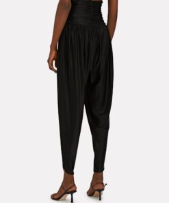 ALEXANDRE VAUTHIER Cropped High-Rise Pants