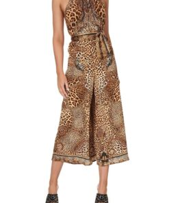 Camilla Lady Lodge Drawstring Neck Jumpsuit