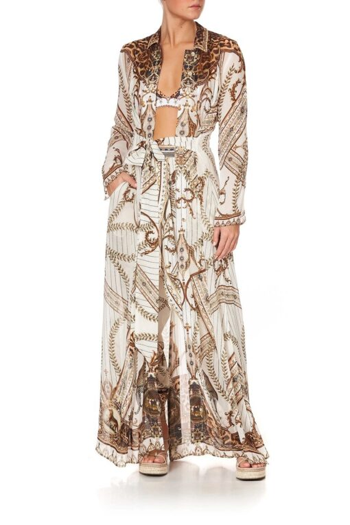 Camilla Mind Your Manor Printed Trench