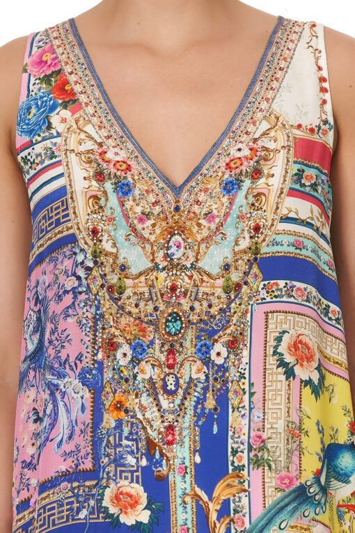 Camilla Party In The Palace Overlay Top