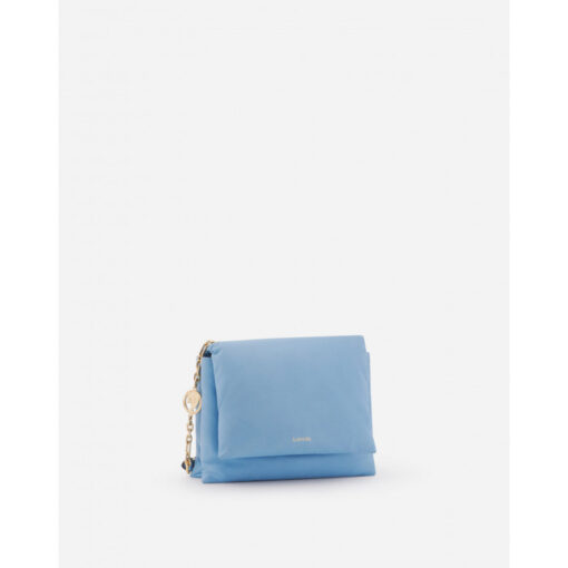 Lanvin Nappa Leather Blue Sugar Bag
