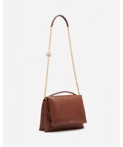 Lanvin Nappa Leather Brown Sugar Bag