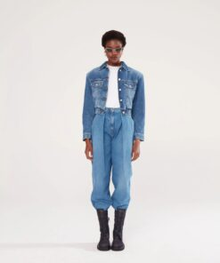 MAGDA BUTRYM Tapered denim pants