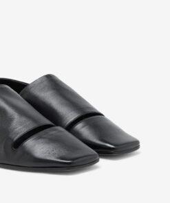 MM6 Maison Margiela leather mules