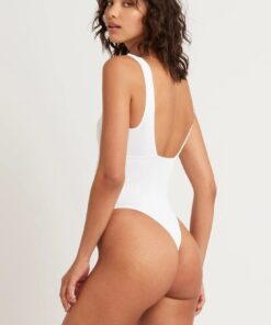 BOUND by Bond-Eye The Lawrence Bodysuit White color