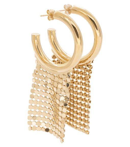 Paco Rabanne Pixel Hoop Earrings