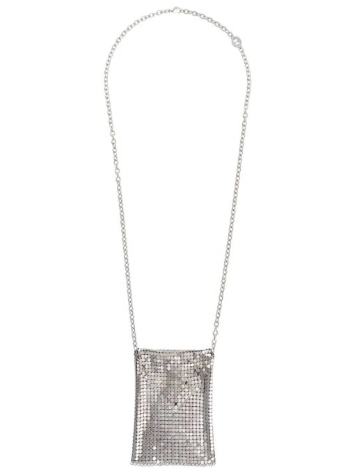Paco Rabanne Pixel Necklace Silver