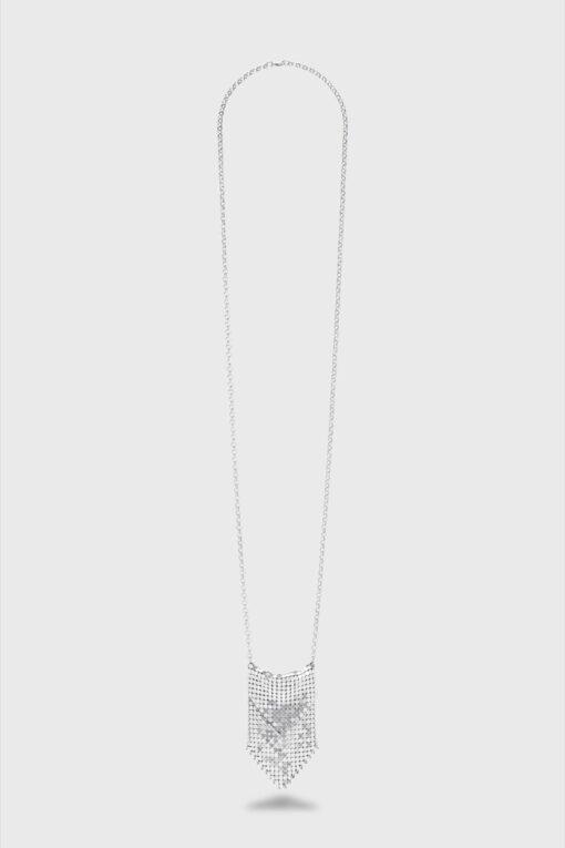 Paco Rabanne Pixel Pendant Silver