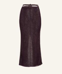 MAGDA BUTRYM Crochet Pencil Skirt