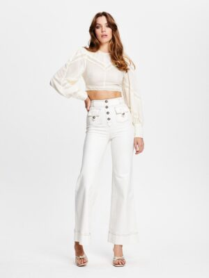 Alice McCall Some Girls Top White
