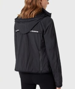Paco Rabanne Fitted Jacket Black