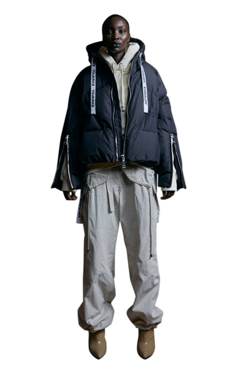 KHRISJOY Puff Khris iconic jacket black