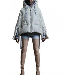 KHRISJOY Puff Khris iconic jacket pearl