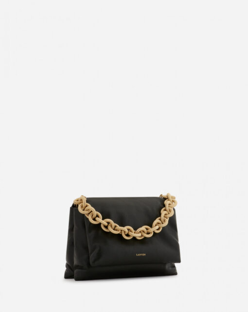 Lanvin chunky chain leather bag